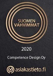 Suomen vahvimmat, Competence Design